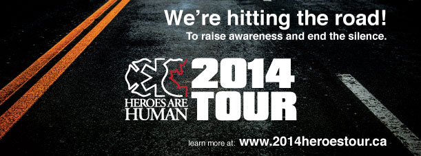 2014 Heroes are Human Tour
