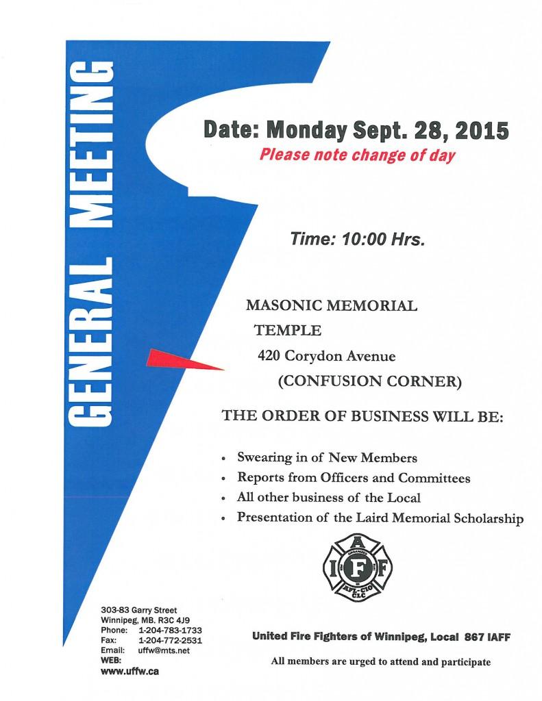 General Meeting 2015 2