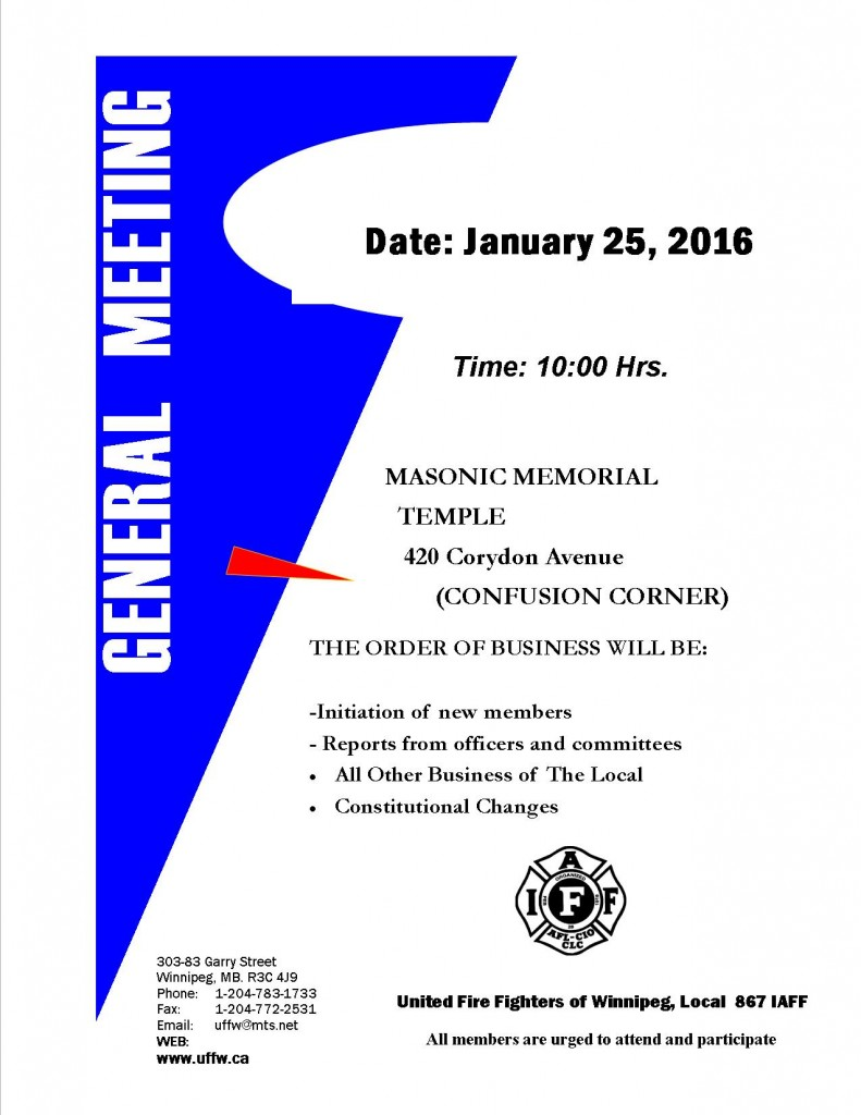 General Meeting Poster - 2015