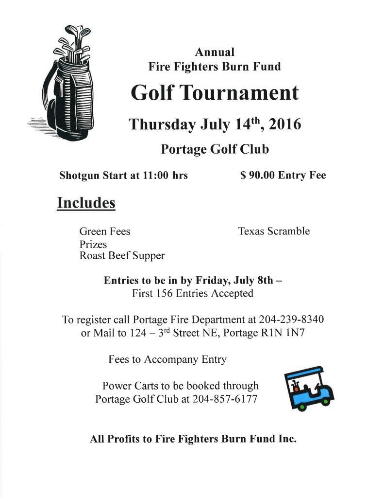 Burn Fund Golf Tournament