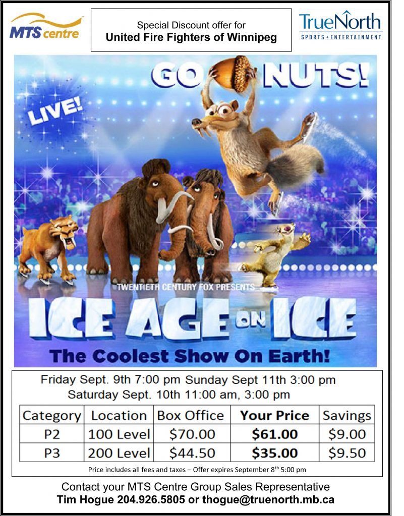 Ice Age offer - UFFW