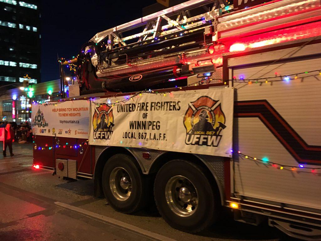 Santa Claus Parade Volunteers Needed | United Fire Fighters of Winnipeg
